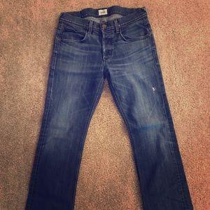 Hudson Men's Blue Jeans Size 32